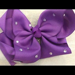 Mini Purple Jojo Bow